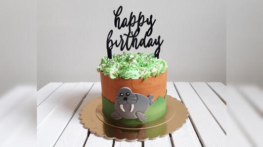 « Cake topper » en plexiglass - pour les mariages, les fêtes ou les anniversaires!
